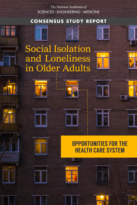 social isolation of lonliness in older adults