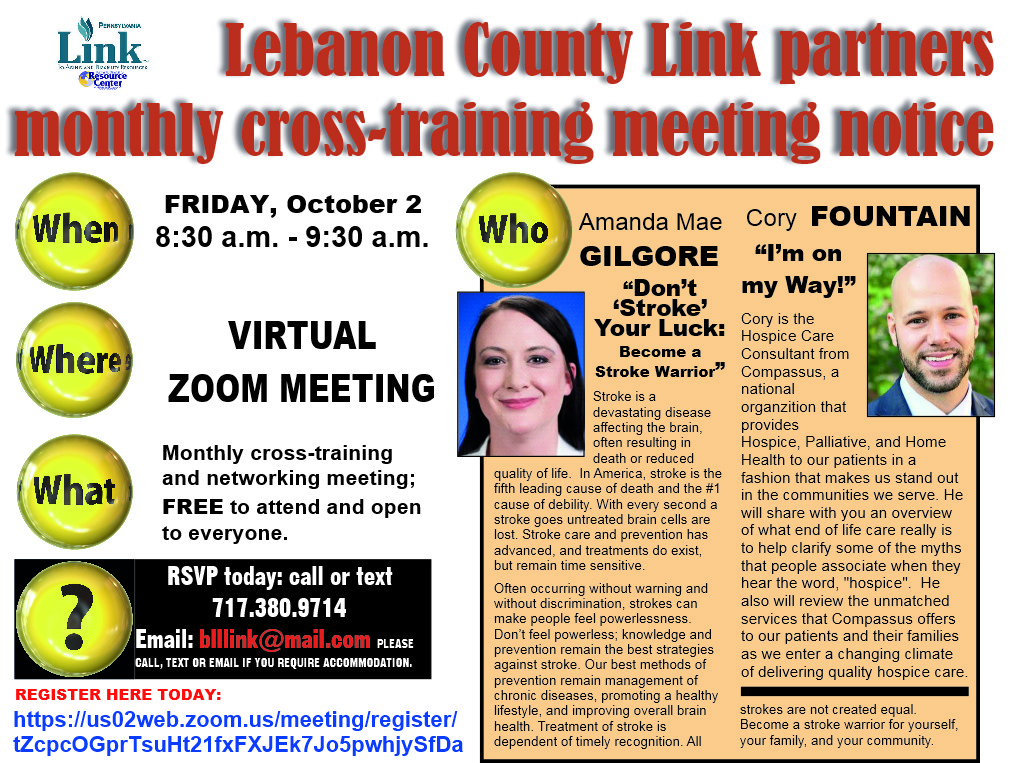 10-2020 Leb Link cross-training announcement
