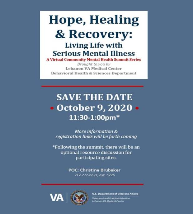 VA mental health event