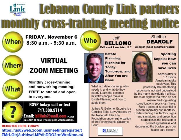 11-2020 Leb Link cross-training announcement