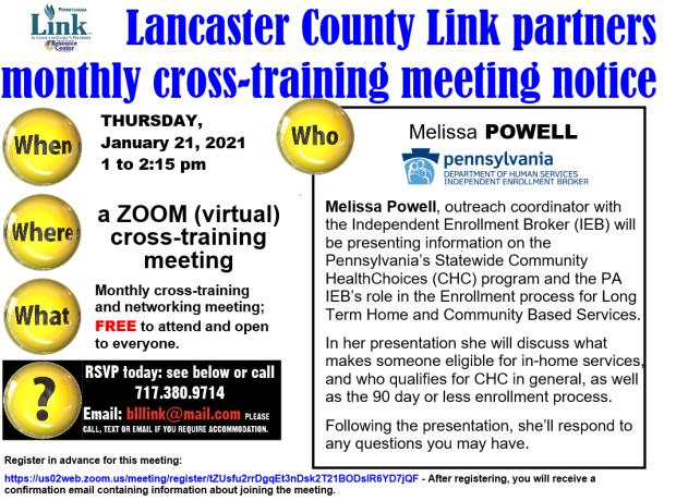 01 - 2021 Lanc Link cross-training announcement
