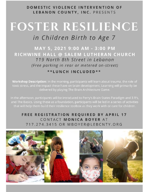 foster resilience may