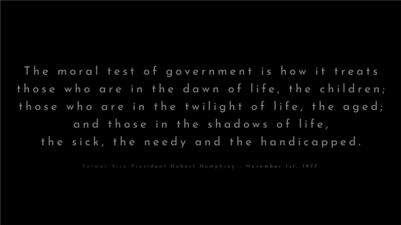 moral test of government