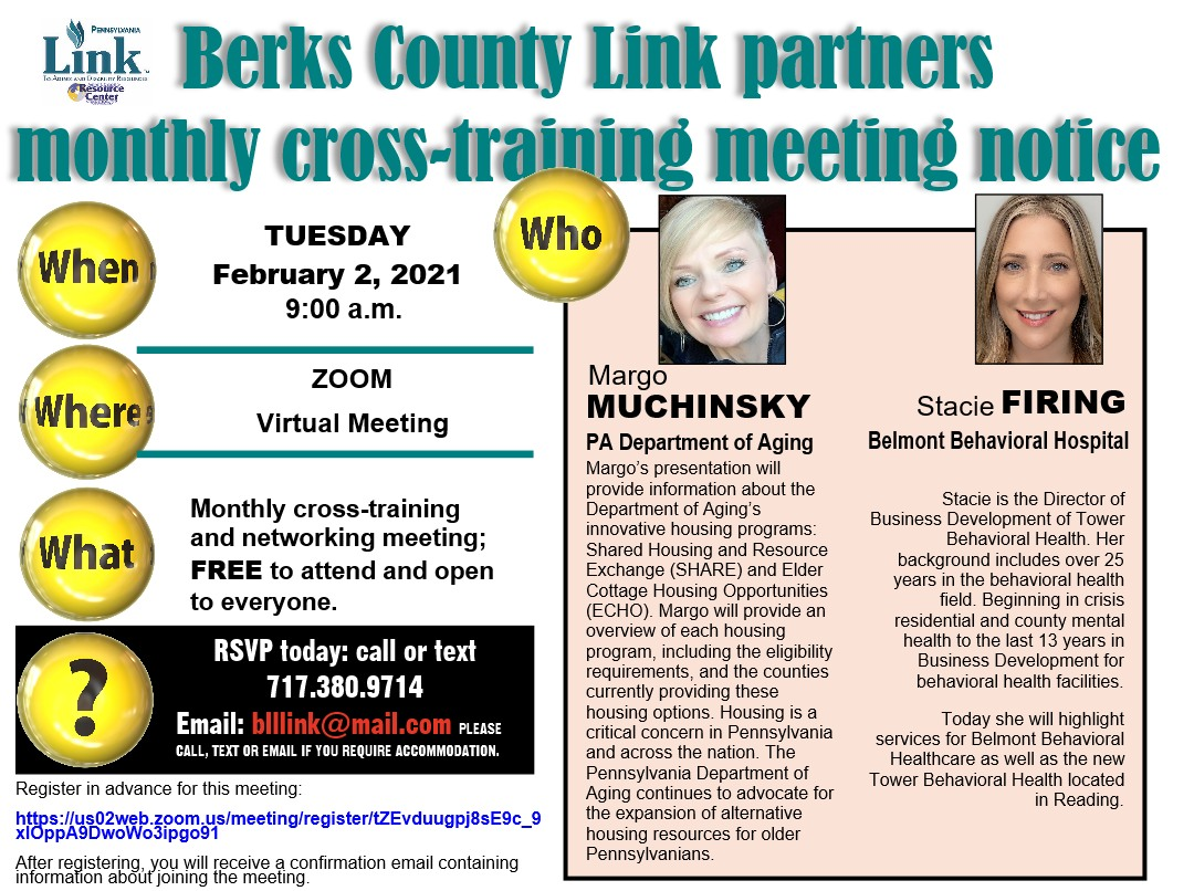02-2021 cross-training meeting announcement