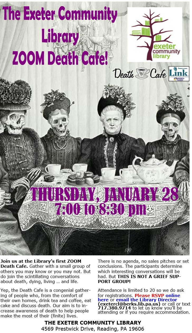 Exeter Township Library Death Cafe
