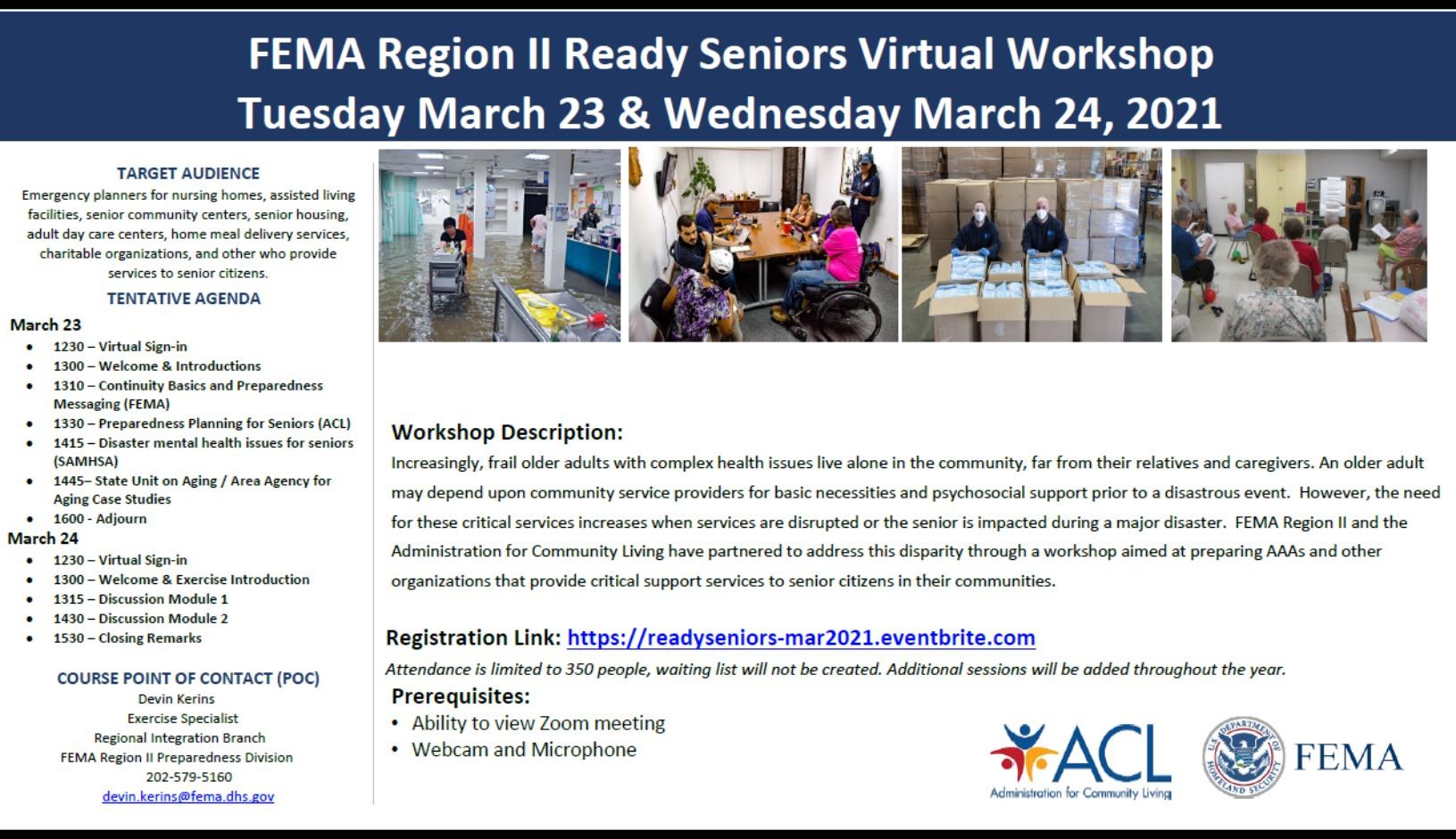 ready seniors workshop