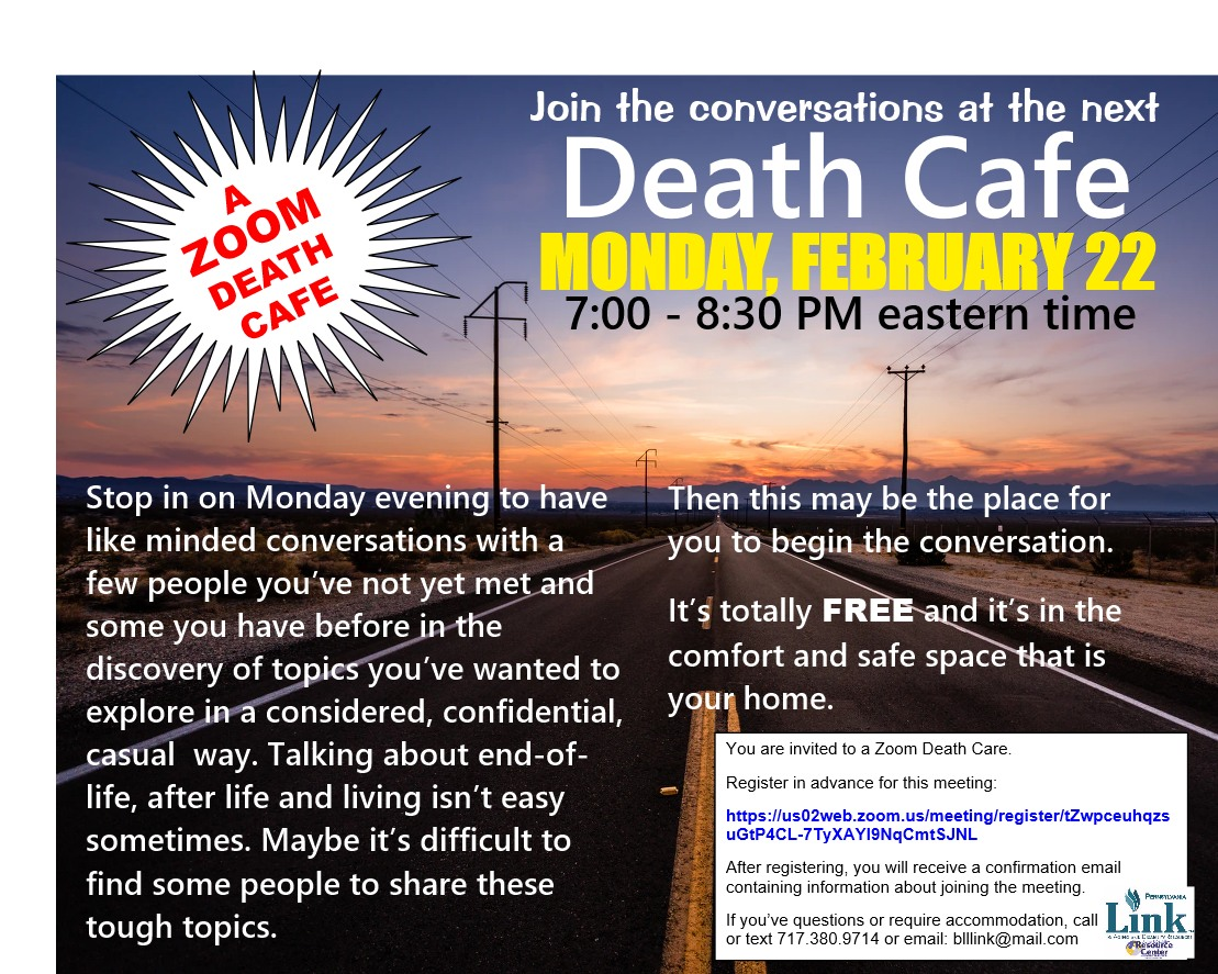 02222021 Death Cafe