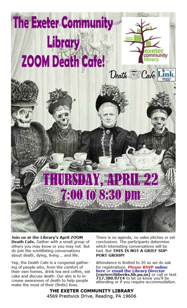 APRIL - Exeter Township Library Death Cafe
