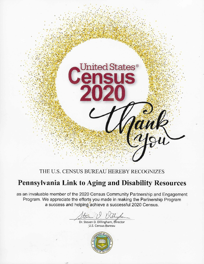 census appreciation