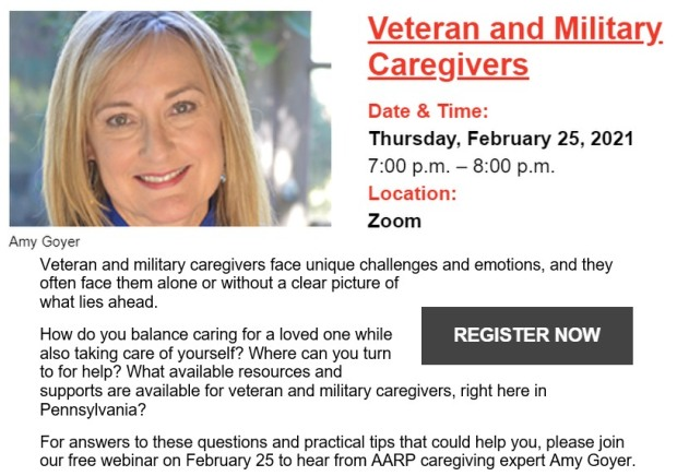 veteran and military caregivers