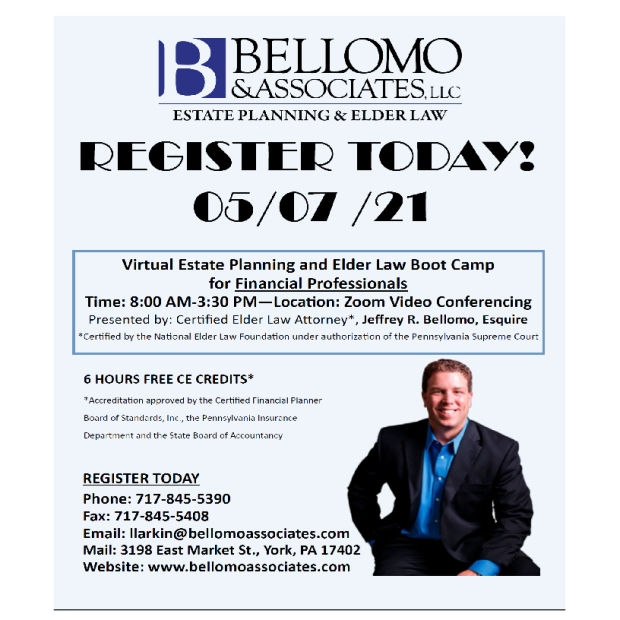 Bellomo estate planning workshop 0507