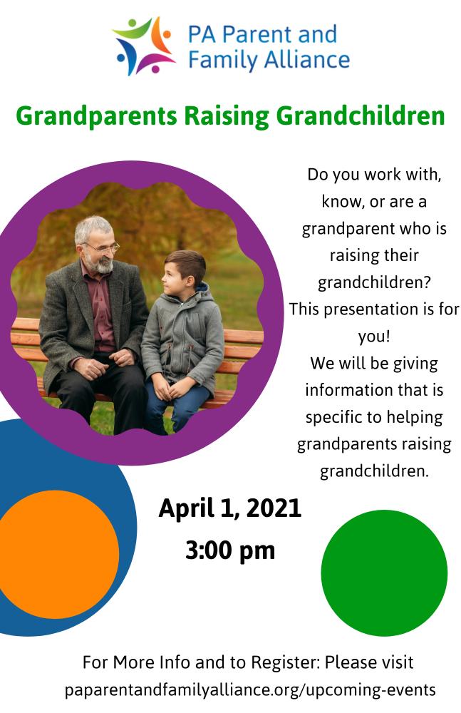 grandparents raising grandchildres