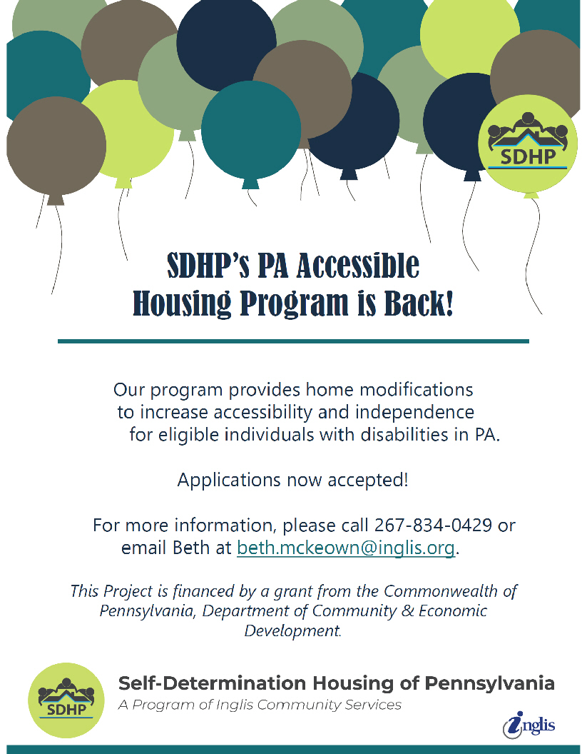 SDHP Home Mods Flyer