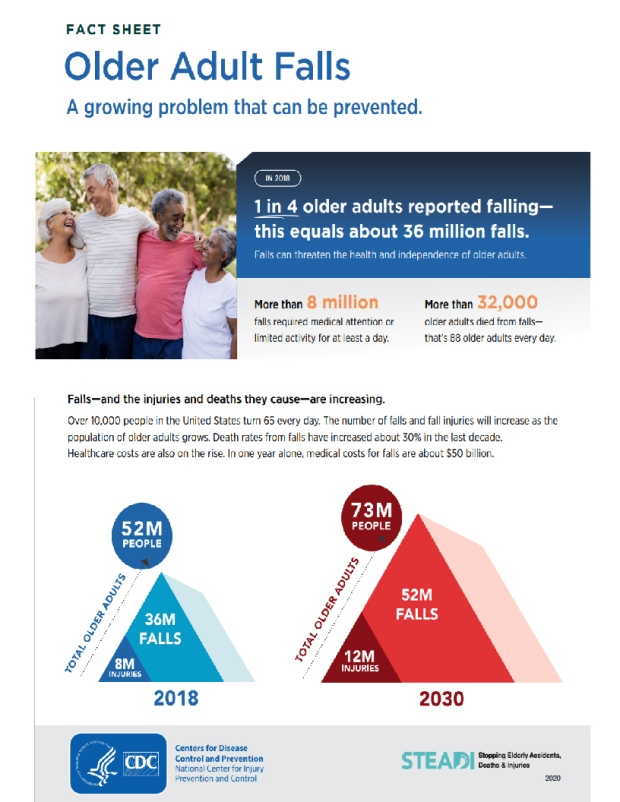 older adults falls