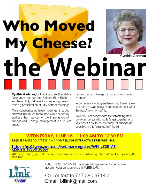 change and cheese with cynthia