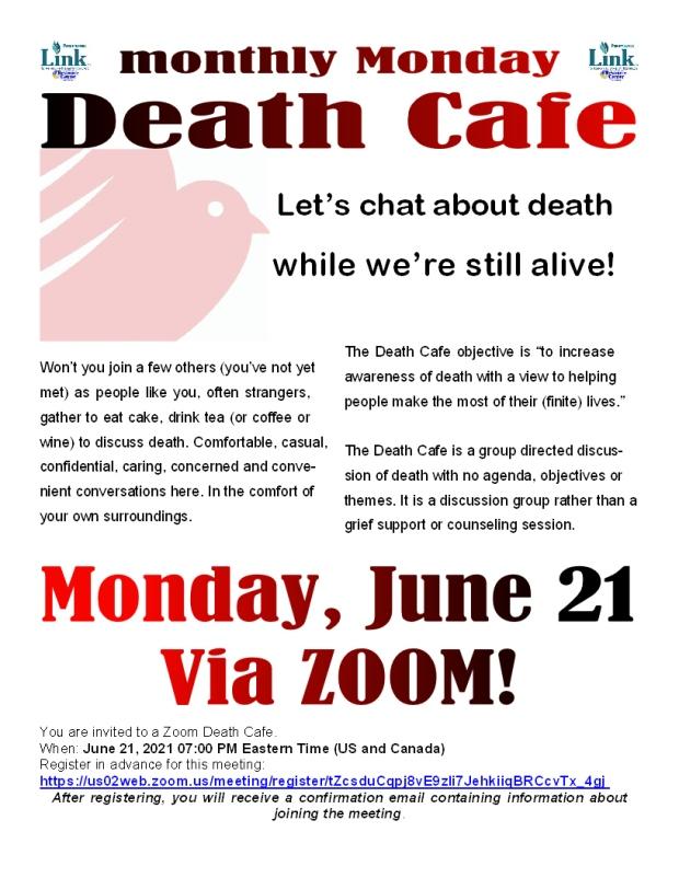 June 2021 death cafe