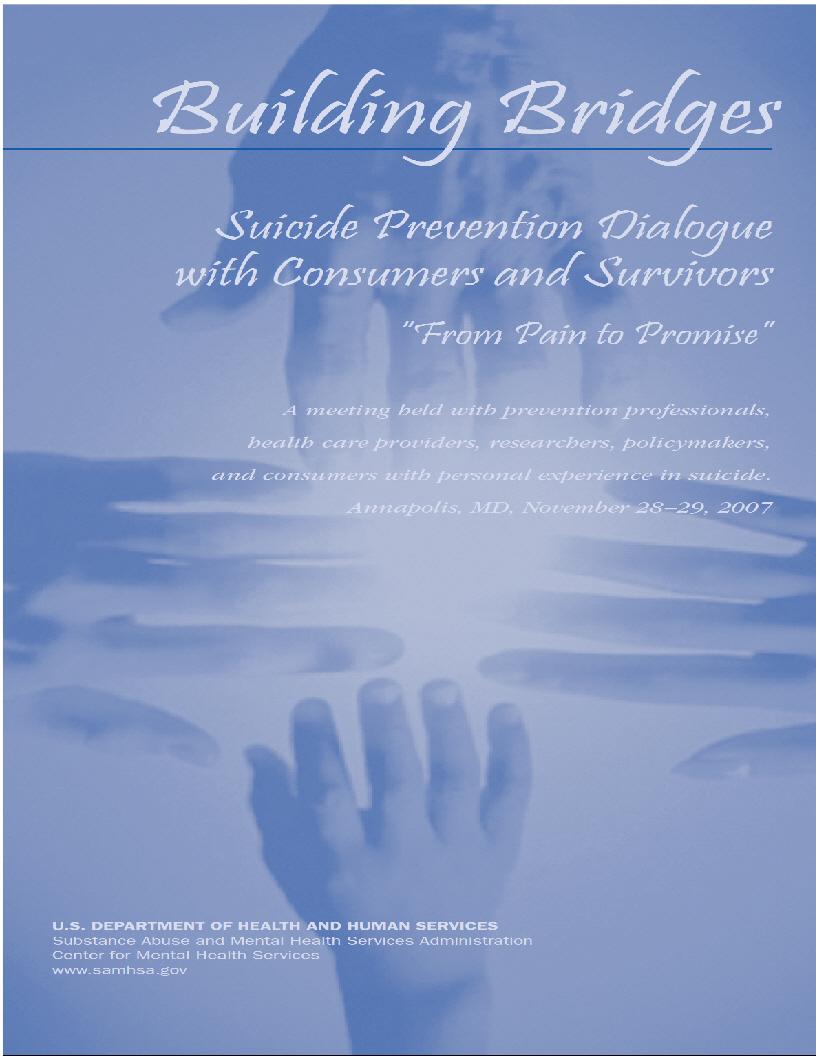 building bridges suicide prevention