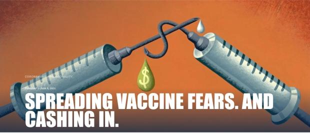 spreading vaccine fears